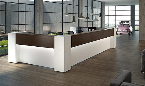 Preventivi e progettazione arredamento ufficio mobili arredo for Mobili per reception