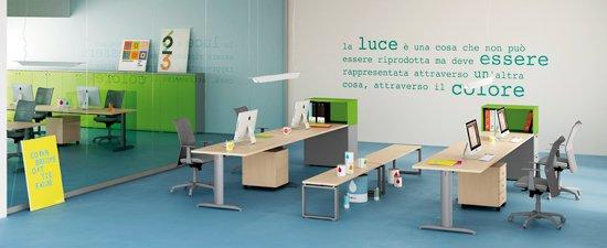 Colore e arredo ufficio linekit linekit - Colori per pareti ufficio ...