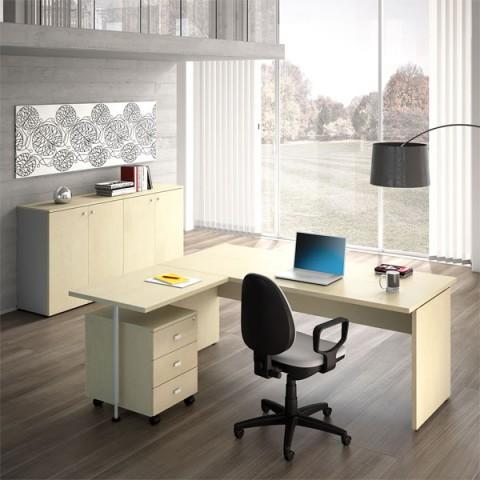 Scrivanie per ufficio operative acquista online con linekit for Mobili per ufficio online
