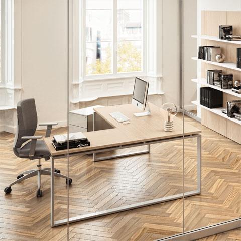 Mobili ufficio operativi linekit for Mobili ufficio scrivania