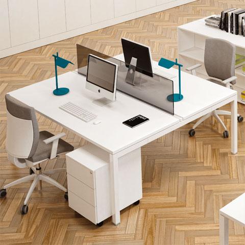 Scrivania ufficio bianca: pro e contro - Linekit