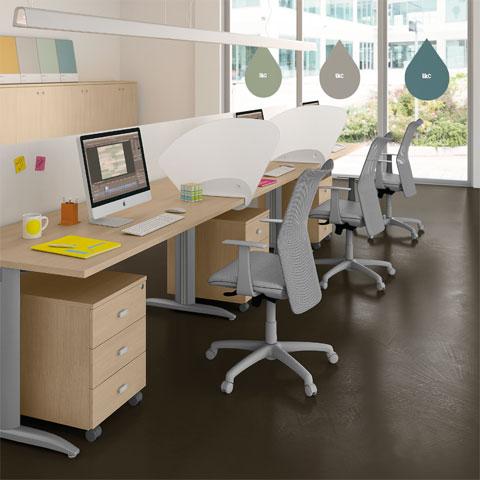 Arredo ufficio per coworking i consigli di linekit per for Arredo ufficio scrivanie