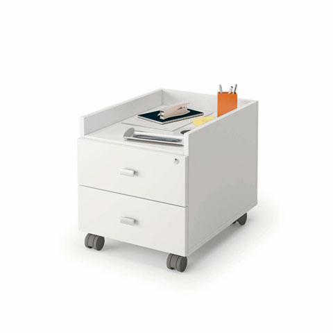 Start up la scrivania per ufficio pi economica sul mercato for Cassettiera ufficio economica