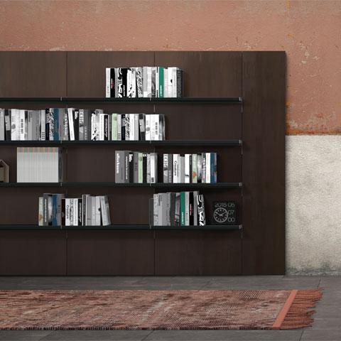 Librerie a fissaggio parete - Boiserie