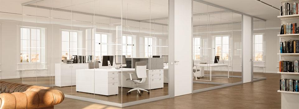 Pareti divisorie per ufficio le partizioni interne linekit for Pareti mobili ufficio