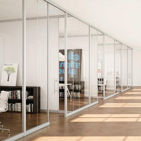 Pareti Attrezzate Ufficio | LineKit - Linekit