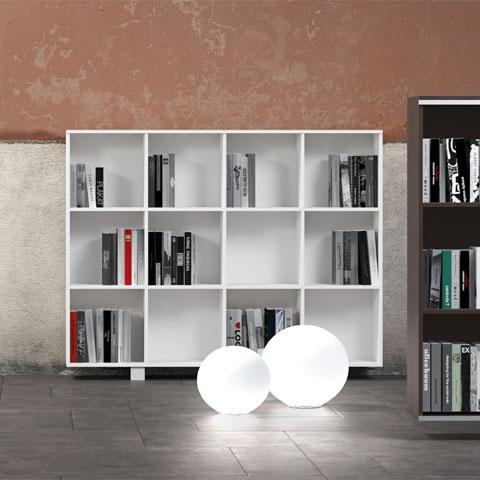 Arredo ufficio online armadi e librerie per archiviazione - Libreria ufficio usata ...