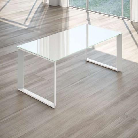 scrivania per ufficio cristallo