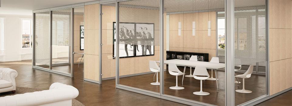 pareti divisorie per ufficio: le partizioni interne - linekit - Pareti Vetrate Uffici