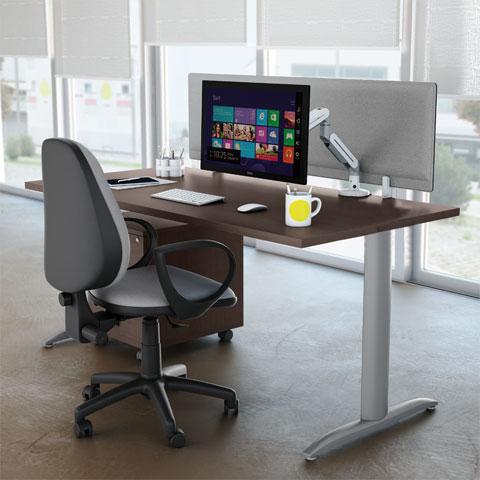 Scrivanie per ufficio operative acquista online con linekit for Scrivanie operative ufficio
