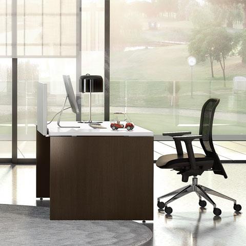 Scrivanie operative linekit for Scrivanie operative ufficio