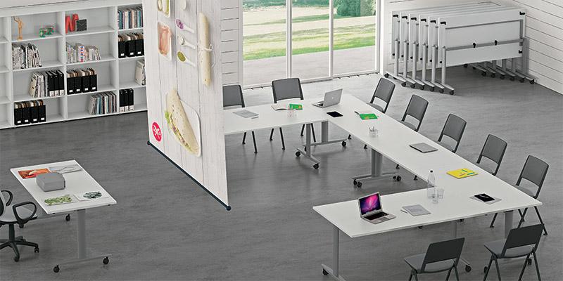 scrivania per ufficio ribaltabile