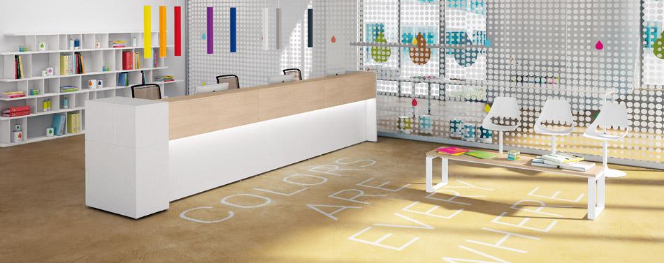 Reception ufficio online linekit la linea ideale per te for Reception per ufficio