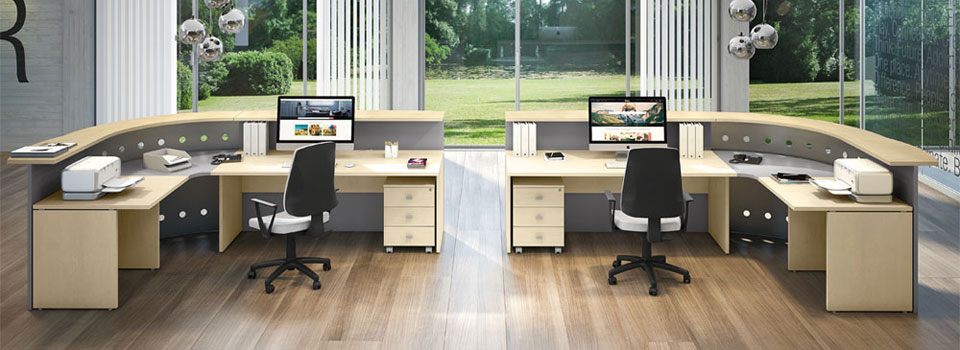 reception per ufficio Linux