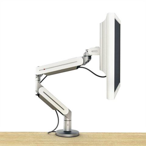 Porta monitor a pinza per piani in legno linekit for Piani in legno online