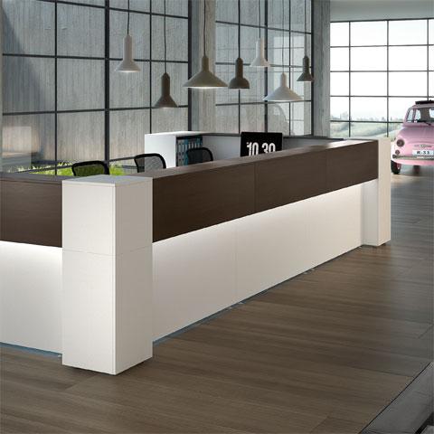 Preventivi e progettazione arredamento ufficio mobili for Arredo ufficio reception