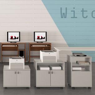 mobili porta fotocopiatrice