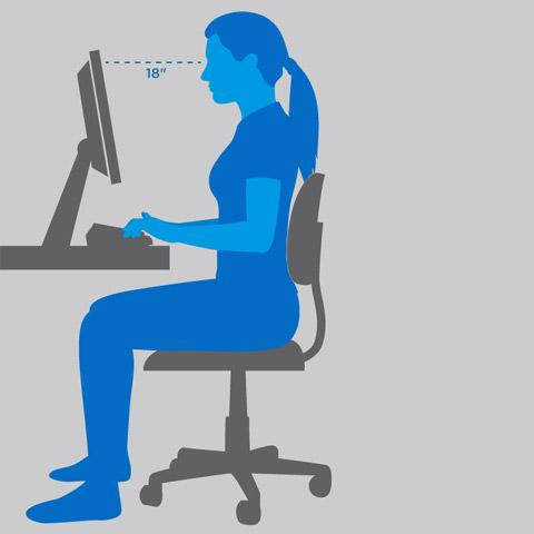 ergonomia arredo ufficio
