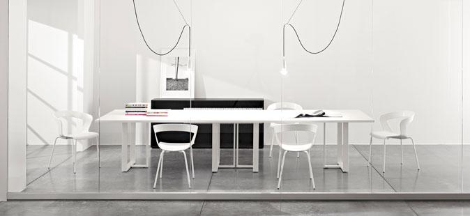 Tavoli per sala riunioni meeting line kit - Tavoli per sala ...