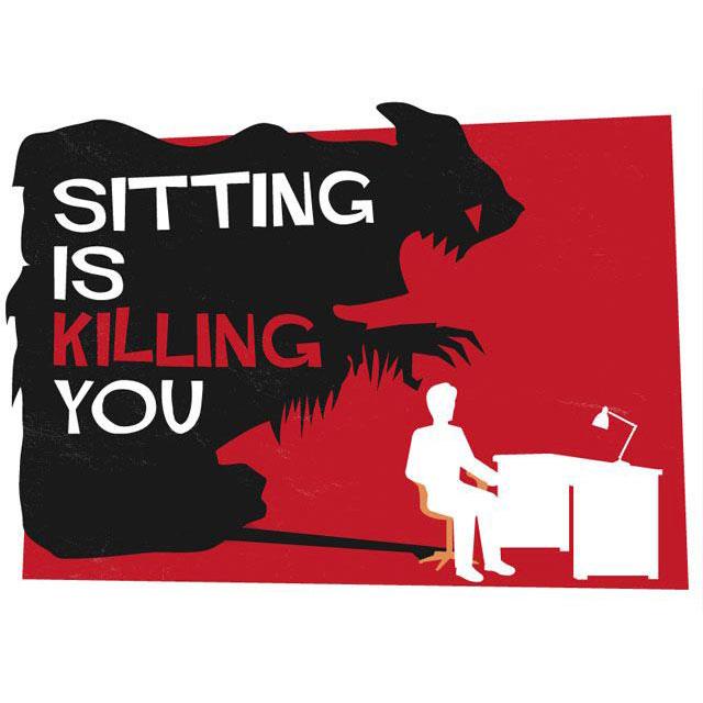 scrivania regolabile sit stand