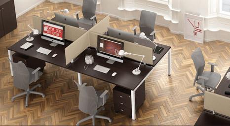 Scrivanie per ufficio ecco le dimensioni giuste linekit