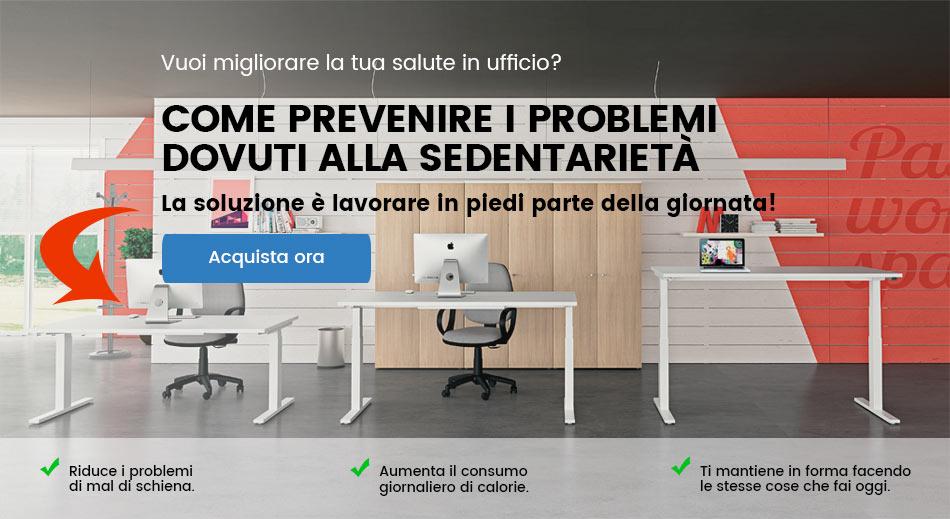 scrivania regolabile ufficio