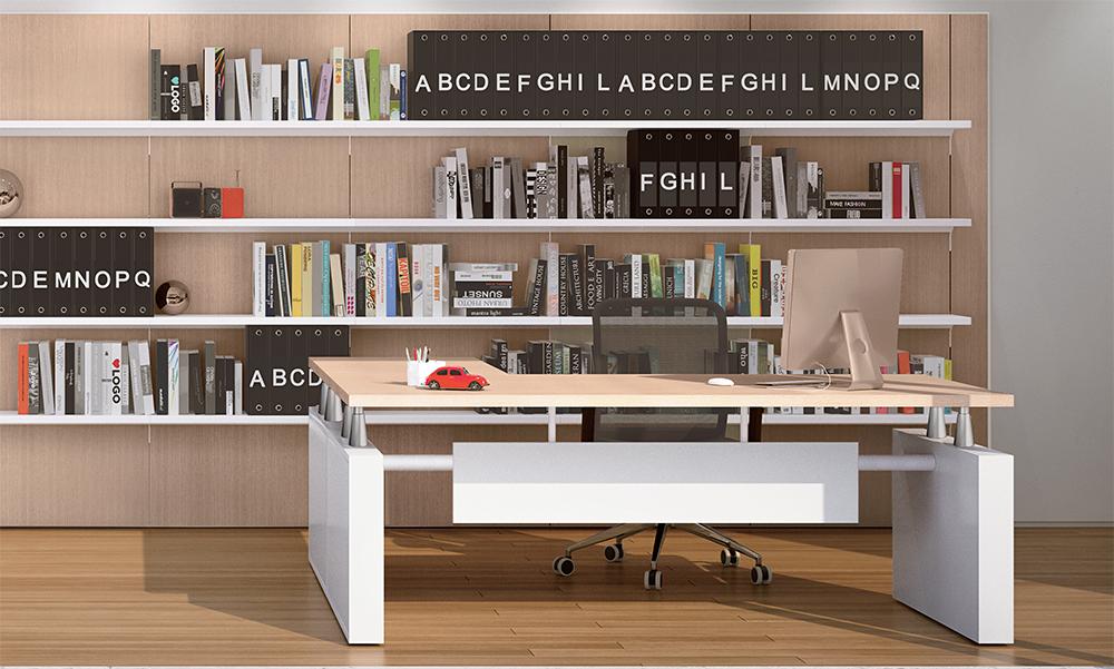 Libreria Ufficio Wenge : Boiserie per ufficio linekit