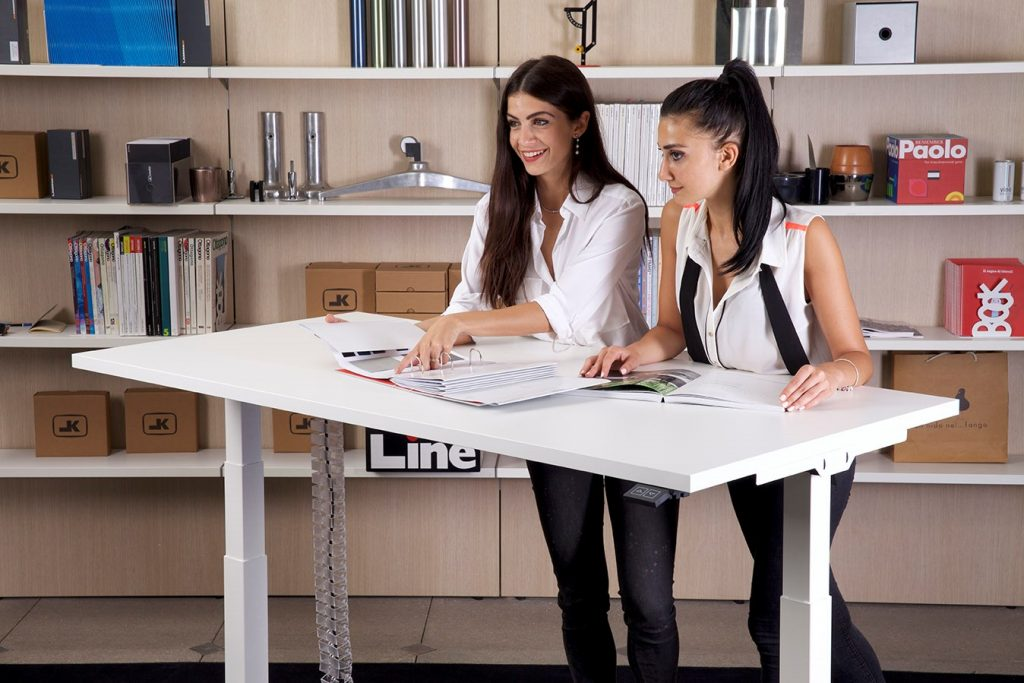 scrivania elevabile